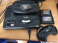 Sega 32x & Megadrive Console & Games