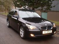 2008 BMW 520d SE TOURING NOT VW , SEAT , AUDI , SKODA , FORD.
