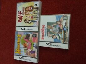 4 x NINTENDO DS GAMES for sale.