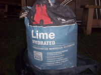 Bag of Hydrated Lime - FREE