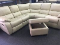 NEW/EX DISPLAY LazyBoy BELAIR CORNER RECLINER SOFA 70% Off RRP