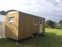 Shepherds hut - NEW- TOWABLE- Living Hut, Glamping, Holiday Home, Holiday Let Business MADE TO ORDER