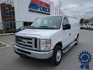 2014 Ford E-250 Cargo Van Rear Wheel Drive - 39,407 KMs, Seats 2