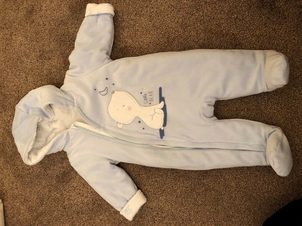 Snowsuit / Pramsuit, with labels.