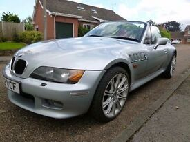 55K MILES BMW Z3 WIDEBODY IN SILVER