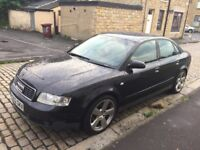 AUDI A4 1.9 TDI SPORT SALOON 2002 YEAR DRIVES EXCELLENT