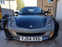 54 mercedes benz smart car roadster, orange interior MAY SWAP FOR MOTORBIKE W.H.Y