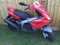Peugeot Jetforce 125 5000 miles 12 months mot scooter moped