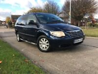 7/8 SEATER LUXURY FAMILY CAR CHRYSLER GRAND VOYAGER 2.8 CRD AUTOMATIC 72k FULLY LOADED