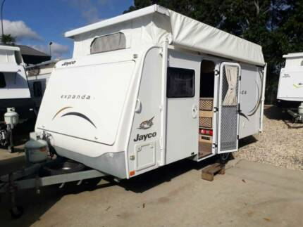 2011 Jayco Expanda Heatherbrae Port Stephens Area Preview