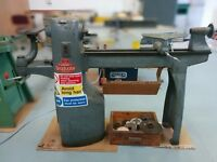 Ex High-School Union Graduate wood lathe with sanding table. Great condition, inverter project.