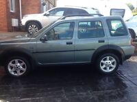 Land Rover freelander for sale.brand new mot. Full service history. And only 2 owners