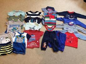 Boys 6-9month clothes bundle.