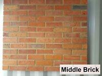 Brick slips- cladding, wall tiles