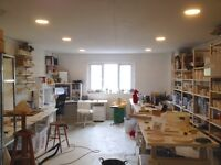 artists craftsperson studio available art workshop space