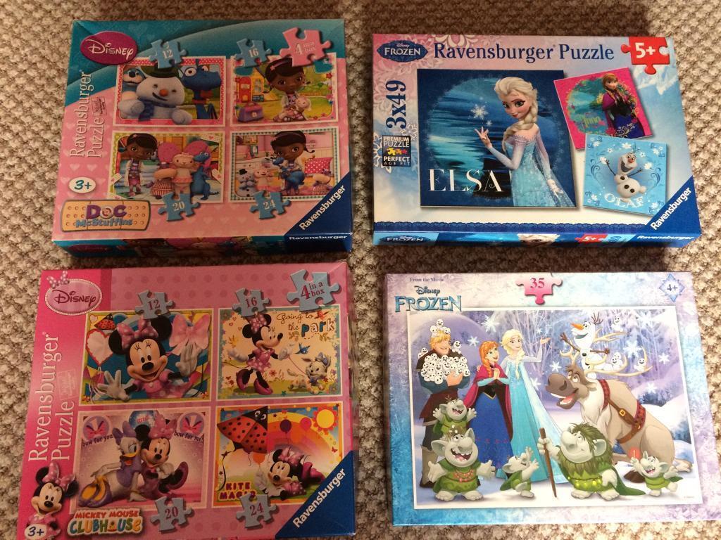 Disney jigsaws