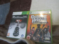 ***X_BOX 360 GAMES FOR SALE*** GUITAR HERO:- GH 3 - Legends of Rock & The Original Rocksmith