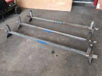 Transit Van Roof Rack 3x Rhino Mega Bars, heavy duty roof rack for low roof Transit Van