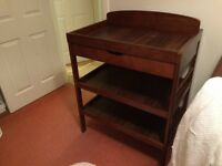 dark wood babies r us changing table