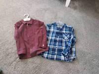 H and m kids shirts