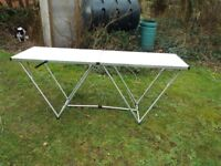 2 Folding tables still in the original boxes will sell singly