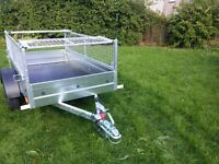 NEW Car trailers and mesh 6' x 4' 2,25 FIX PRICE £620 inc vat