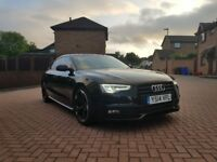 AUDI A5 SPORTBACK 2014 BLACK EDITION FULLY LOADED