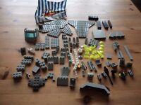 Various lego bricks