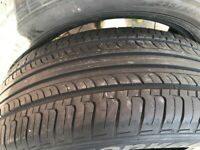 Two used tyres in very good legal condition. 235X55XR18 100H