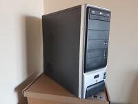 AMD Gamer PC, Athlon X2 6000+, Windows 10, 500GB HDD, Nvidia Geforce 8400, Office