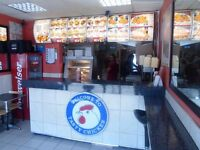 Peri Peri Grill Chicken/PIZZA Eat In and Take Away business lease for sale on Plashet Rd ,E13 0QZ