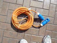 Brand New not used Mains Caravan Hook up lead.
