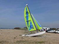 Hobie Dragoon single wire for harness. Fast Fun Boat for sale