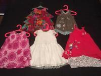 Girls dress bundle 1-2years