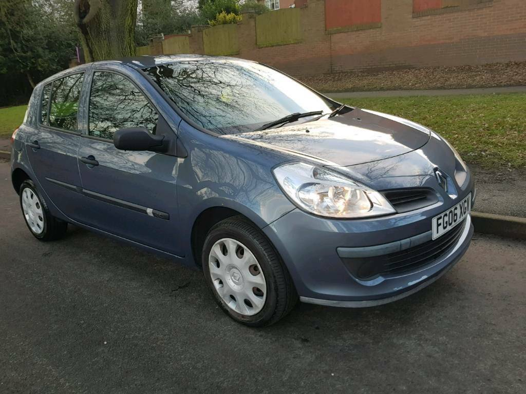 2006 RENAULT CLIO 1.4 AUTHENTIQUE. Diesel. Manual.