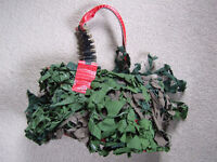 Recycled army camouflage handbag by Joey D - UNIQUE BAG