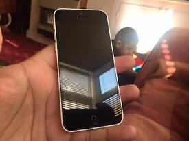 IPhone 5c - 02 - good condition - white