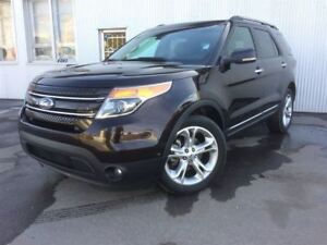 2013 Ford Explorer Limited, 4WD, PAN SUNROOF, LEATHER,  BACKUP C