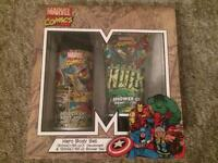 Marvel comics toiletries set. Great as gift.