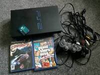 Ps2 playstation complete + 2 games