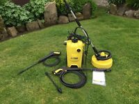 Karcher K4 Compact Pressure Washer+Patio Cleaner+Accessories