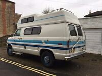 Ford E250 1986 Econoline Holidaire 4 Berth American Motorhome LHD