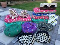 Dog beds (16 in all)