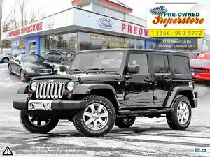2013 Jeep WRANGLER UNLIMITED Sahara >>>chrome wheels, NAV<<<