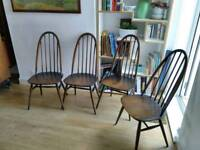 Ercol Dining chairs - free delivery available