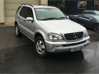 MERCEDES ML270 CDI 5DR 156K *** FULL SERVICE HISTORY ***