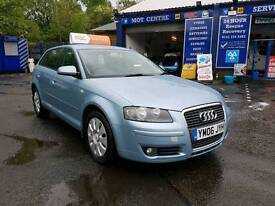 Audi a3 2006, Sportback special edition, FINANCE AVAILABLE.