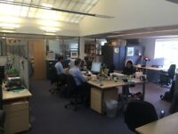 Desk space available in convenient central Oxford location £200pcm