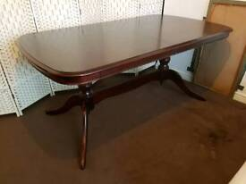Stag Minstrel Solid Wood Dining Table - Can deliver