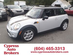 2012 MINI Cooper Leather & Panoramic Sunroof)